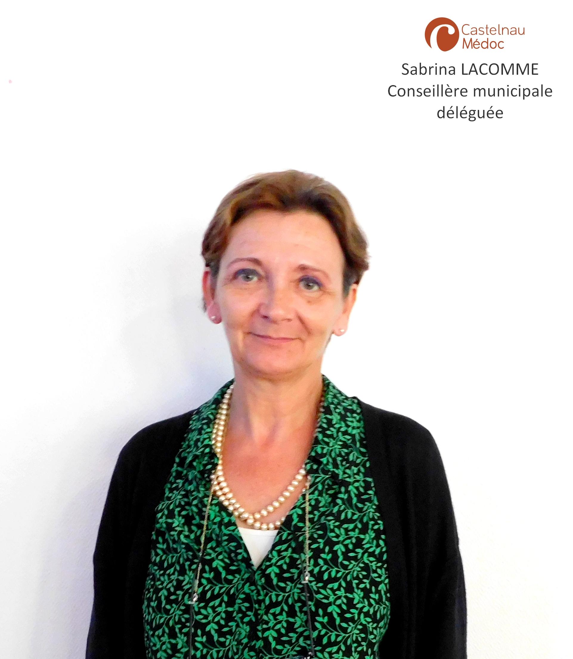 Sabrina LACOMME